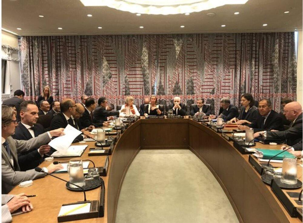 بیانیه نشست پایانی وزیران خارجه ایران و 1
